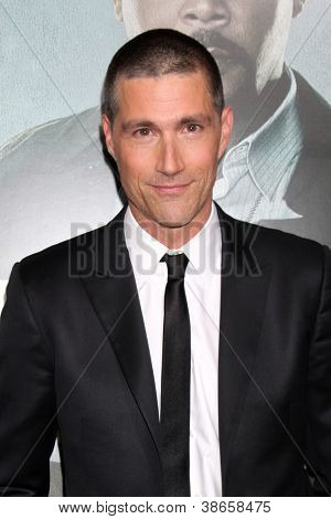 LOS ANGELES - OCT 15:  Matthew Fox arrives at the
