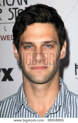 LOS ANGELES - OCT 13:  Justin Bartha arrives at the