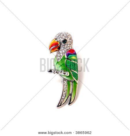 Broche Parrot
