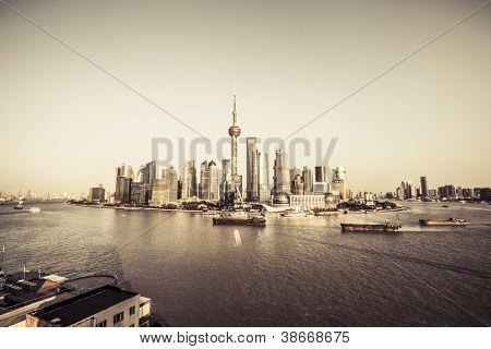 moderne Stadt - shanghai