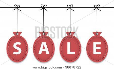 Sale Balloon Labels