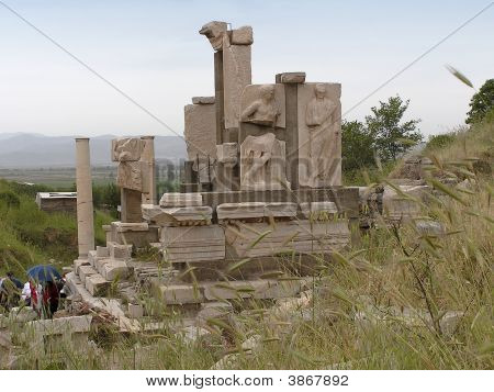 Ephesus Sculptures Turkey