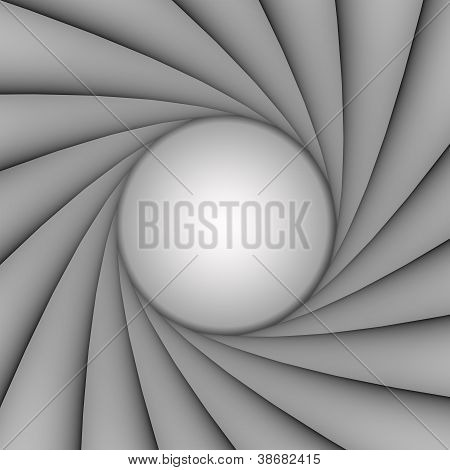 BW style shutter background