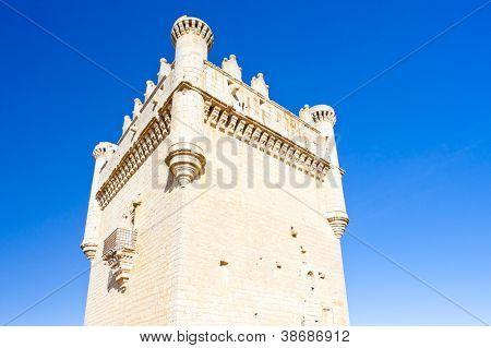 Castelo de Belmonte de Campos, Castela e Leão, Espanha