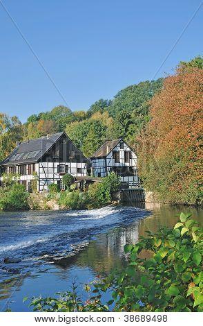 Wupper River,Solingen,Germany