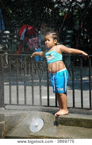 Urban Summer Sprinkler