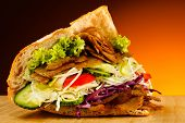 stock photo of gyro  - Kebab  - JPG