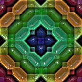 Colourful Glossy Seamless Ceramic Tile