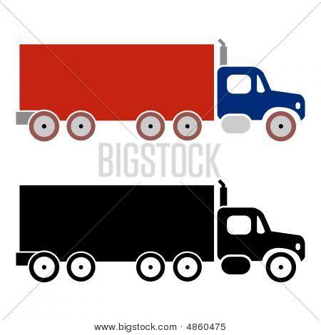 Truck Cargo Icons