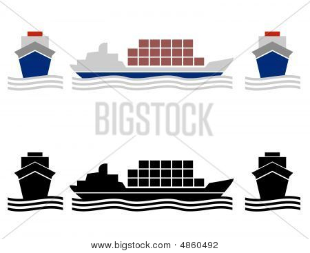 Ship Cargo Icons