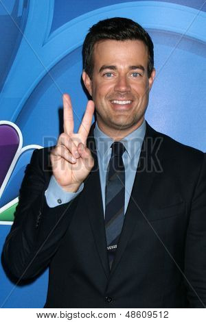 LOS ANGELES - JUL 27:  Carson Daly at the NBC TCA Summer Press Tour 2013 at the Beverly Hilton Hotel on July 27, 2013 in Beverly Hills, CA