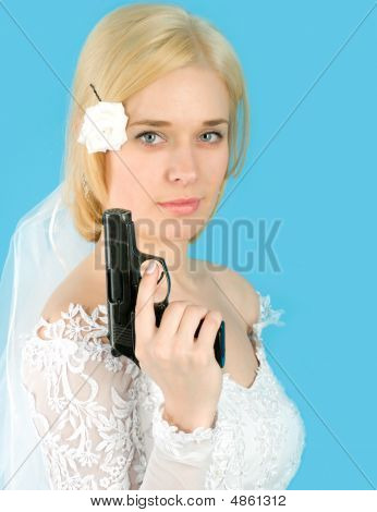 Bride With Gun