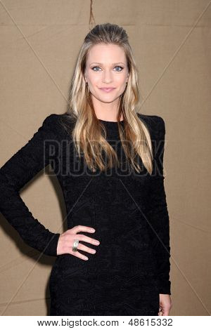LOS ANGELES - JUL 29:  AJ Cook arrives at the 2013 CBS TCA Summer Party at the private location on July 29, 2013 in Beverly Hills, CA