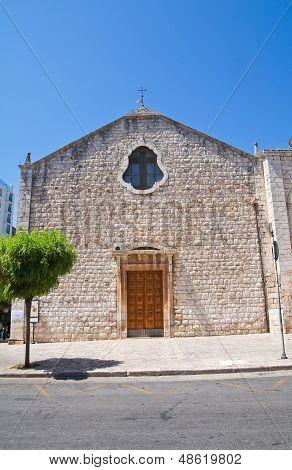 Church of Carmine. Putignano. Puglia. Southern Italy.
