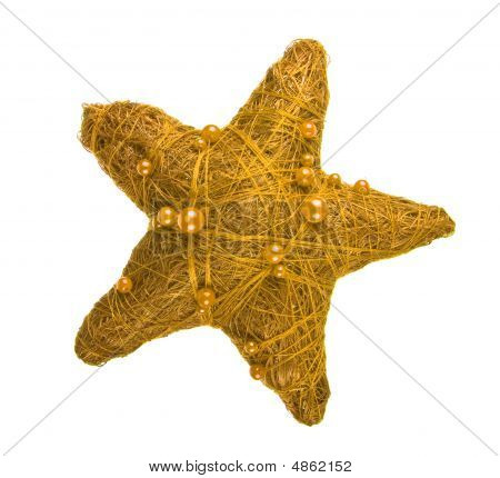 Yellow Christmas Star