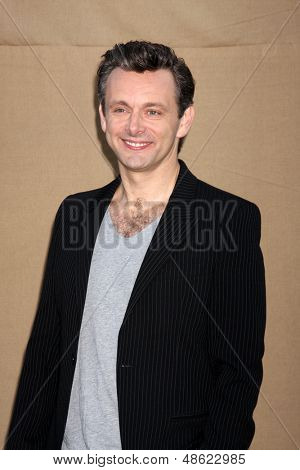 LOS ANGELES - JUL 29:  Michael Sheen arrives at the 2013 CBS TCA Summer Party at the private location on July 29, 2013 in Beverly Hills, CA