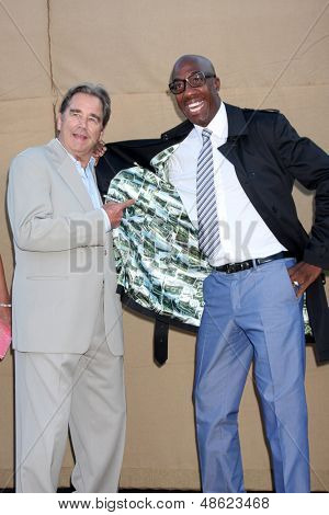 LOS ANGELES - JUL 29:  Beau Bridges, JB Smoove arrives at the 2013 CBS TCA Summer Party at the private location on July 29, 2013 in Beverly Hills, CA