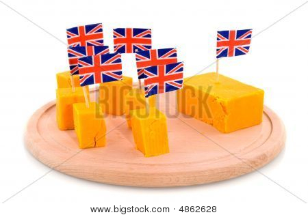 Cubes Cheddar Cheese