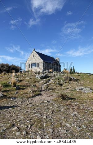 New Zealand Church - Lake Tekapo