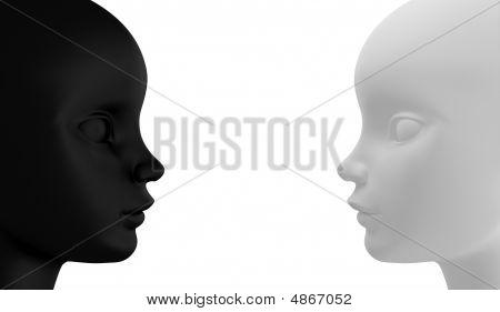 Black And White Opposite
