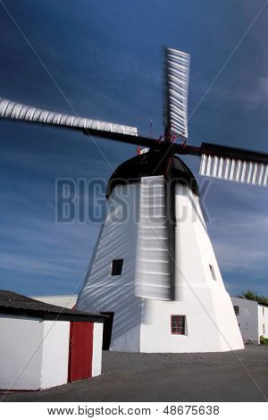 Windmill On Bornholm