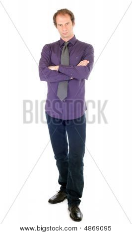 Businessman Standing