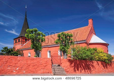 The Red Church Svaneke Kirke
