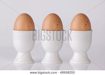 Three Boiled Eggs