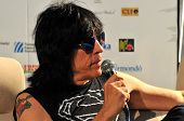 Marky Ramone Grammy awarded drummer during a press conference
