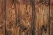 Old Weathered Pine Tree Planks Wooden Fence