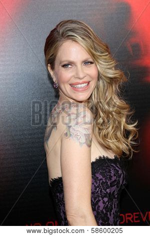 Kristin Bauer van Straten at the