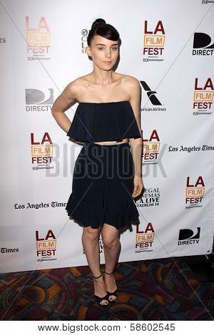 Rooney Mara at the