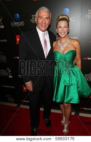Jerry Douglas and Wife at the 40th Annual Daytime Emmy Awards, Beverly Hilton Hotel, Beverly Hills, CA 06-16-13