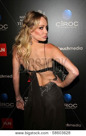 Taylor Armstrong at the 40th Annual Daytime Emmy Awards, Beverly Hilton Hotel, Beverly Hills, CA 06-16-13