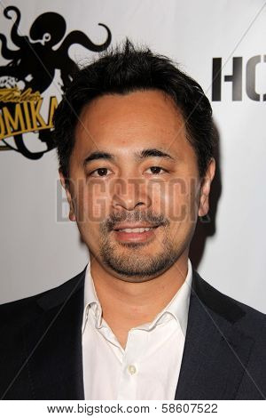 Anthony Winn at the Comikaze red carpet Launch Party, Whimsic Alley, Los Angeles, CA 06-21-13