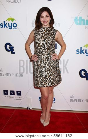 Jen Lilley at the 4th Annual Thirst Gala, Beverly Hilton Hotel, Beverly Hills, CA 06-25-13