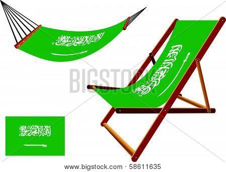 Saudi Arabia Hammock And Deck Chair Set