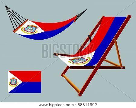 Saint Martin Hammock And Deck Chair Set