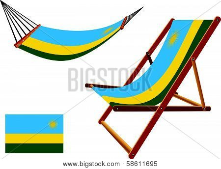 Rwanda Hammock And Deck Chair Set