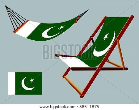 Pakistan Hammock And Deck Chair Set