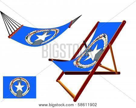 Norfolk Island Hammock And Deck Chair Set