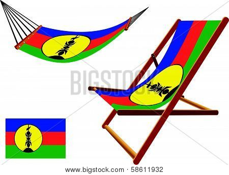 New Zealand Hammock And Deck Chair Set