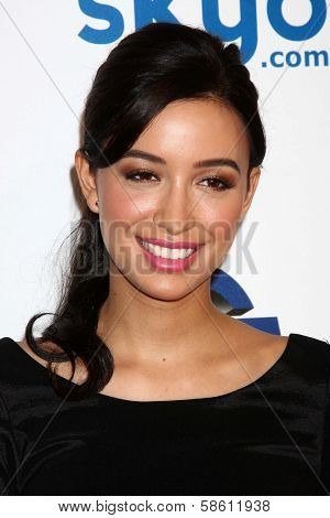 Christian Serratos at the 4th Annual Thirst Gala, Beverly Hilton Hotel, Beverly Hills, CA 06-25-13