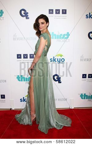 Crystal Reed at the 4th Annual Thirst Gala, Beverly Hilton Hotel, Beverly Hills, CA 06-25-13