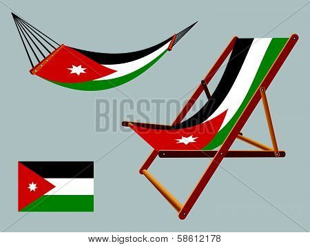 Jordan Hammock And Deck Chair Set