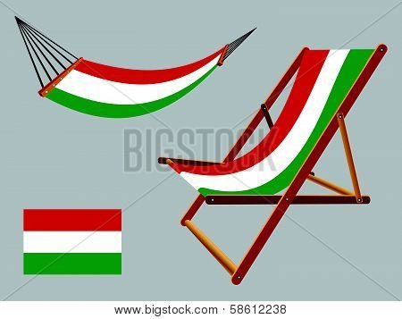 Hungary Hammock And Deck Chair Set