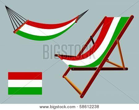 Hungary Hammock And Deck Chair Set