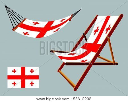 Georgia Hammock And Deck Chair Set