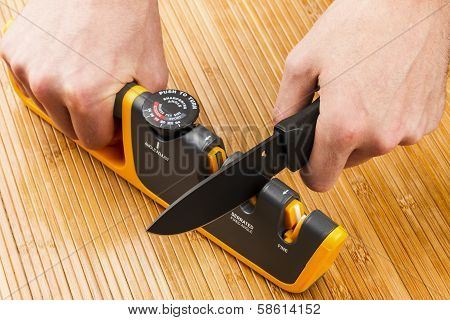 Adjustable Manual Knife Sharpener