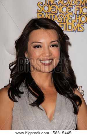 Ming-Na Wen at the 39th Annual Saturn Awards Press Room, The Castaway, Burbank, CA 06-26-13